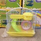 Hamster Cage 23cm X 17cm X 24cm(H) Random Color (158)