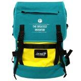 Handry NN1666 20'' Notebook Backpack (Green/Yellow)