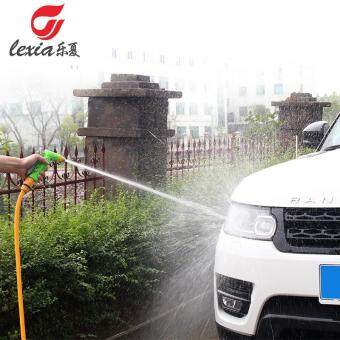 Harga Happy Summer High Pressure Squirt Gun Household Vehicle Brush ToolWatering Car Washing Nozzle Antifreeze Hose Set