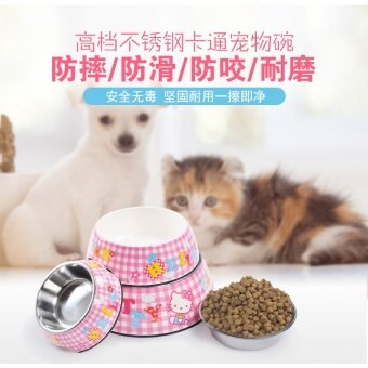 Hello Kitty pet bowl dog bowl cat food bowl dog pet supplies cat supplies