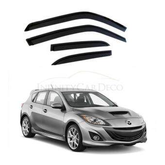 "Harga Mazda 3 Hatchback 2009-2014 Original Door Visor (3"")"