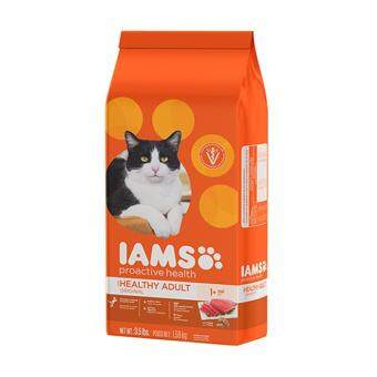 Harga IAMS Proactive Health Healthy Adult Original With Tuna 3.5LBS.