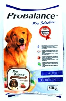 Harga ProBalance Pro Selection Chicken Flavour Adult Dog Dry Food 3.5kg