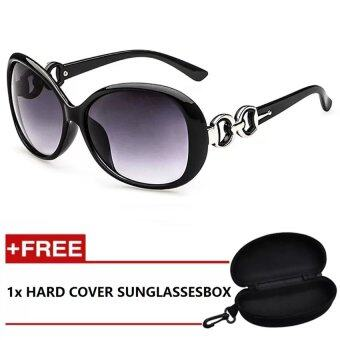 Harga iShade Sunglasses European and American Retro Sunglasses (Black)