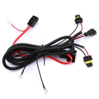 Harga 4PCS Xenon HID Conversion Kit Relay Wiring Harness For H1 H7 H8 H9 H11 9005 9006 5202