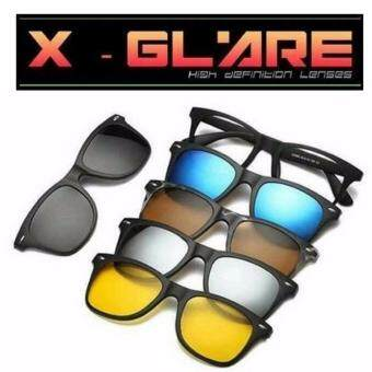 Harga X-Glare HD Sunglasses 6-In-1 Sunglasses