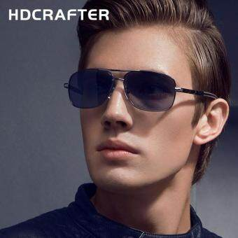 Harga HDCRAFTER New Hotest Summer Style Men Sun Glasses Oval Frame Sunglasses Polarizing Eyeglasses