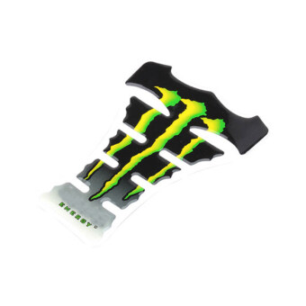 Harga Green Carbon Fiber New Motorcycle Tank Pad Sticker J (Green)