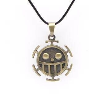 Harga One Piece Necklace Surgeons Trafalgar Law Necklace Women Men's Accessories Anime Jewellery Accessories
