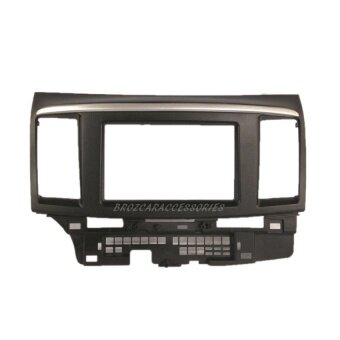 Harga Double Din Car DVD Player Casing For Mitsubishi Fortis