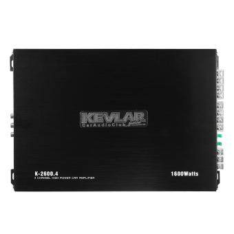 Harga KEVLAR 1600 Watt 4-Channel CH 12V Car Auto Audio Power Amplifier Amp Aluminum
