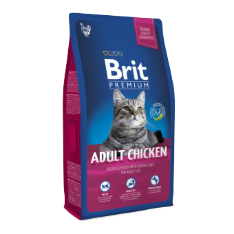 Harga Brit Premium Cat Adult Chicken (8KG)