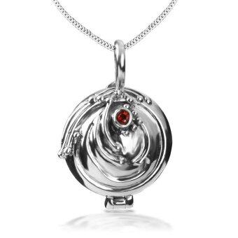 Harga Fashion Necklace Vampire Diaries Elena Nina Pendant Hot Snake Chain Necklace Vintage Silver Color GIFT