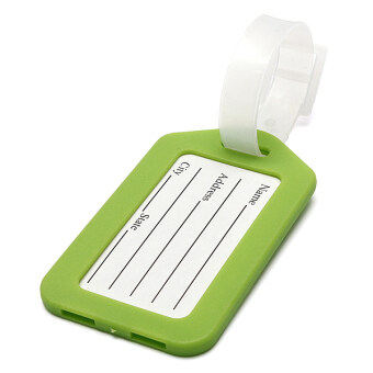 Harga Travel Luggage Luggage Tags Green Plastic Luggage Baggage Tags Label Tag Striped Bag Tags