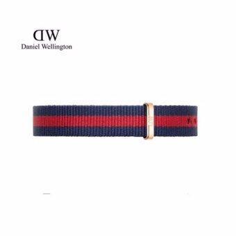 Harga Daniel Wellington Classy Nato Watch Band 13mm [ Classy Oxford ] Rose Gold