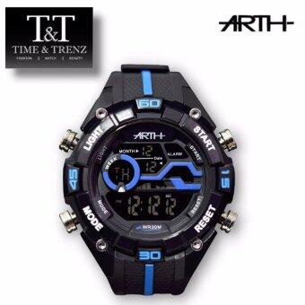 Harga Time&Trenz ARTH 2029 High Quality Unisex Sporty Water Resistance Watch