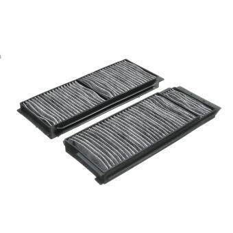 Harga 331684505698 Set of 2 Carbon Fiber Cabin Air Filter for 2004-2009 Mazda 3 2006-2016 Mazda 5