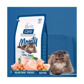 Harga Brit Care Monty I Am Living Indoor Adult-Cat Food 2KG