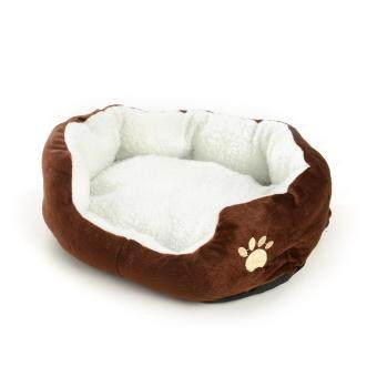 Harga New Arrival Pet Dog Cat Kitten Fleece Warm Bed Kennel Mat Pad Washable