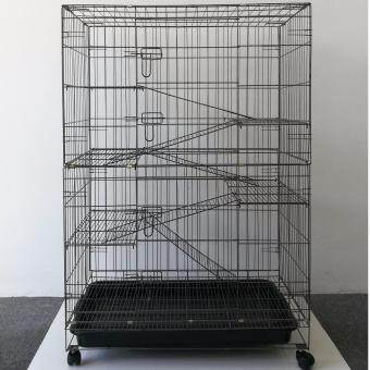"Harga 9134# 5 Level Cat Cage Wrought Iron 36""L x 24""W x 52""H"