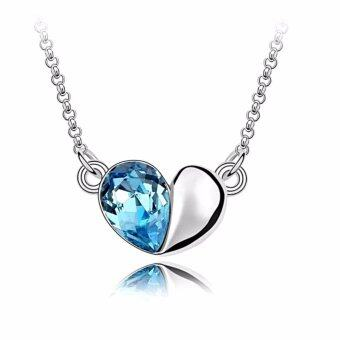 Harga LOVENGIFTS Swarovski In My Heart Pendant Necklace