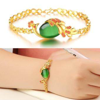 Harga Restore Ancient Ways Jewelry Plated Bracelet Stones Bracelet Ms Peacock