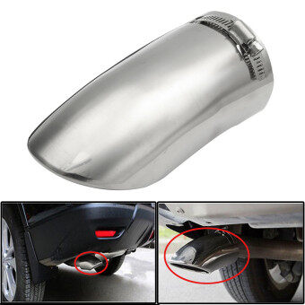 Harga Stainless Tail pipe exhaust pipe cover for Nissan Rogue X-Trail 2014 - 2016