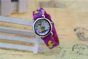 Harga Newly Fashion Cartoon 3D Kids Watch for 2-12 Years Old
