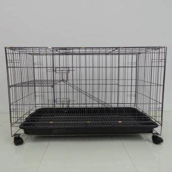 "Harga 355# 1 Level Cat Cage Wrought Iron 30""L x 21""W x 27""H"
