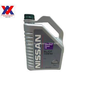 Harga Nissan 15W40 Engine Oil 4L SL/CF