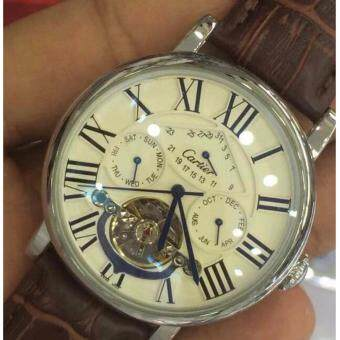 Harga CALIBRE DE CARTIER BROWN SILVER