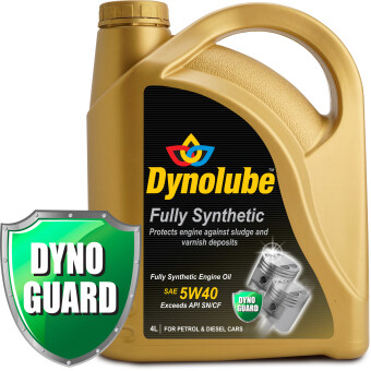 Harga Dynolube 5W40 SN/CF Fully Synthetic 4Liter