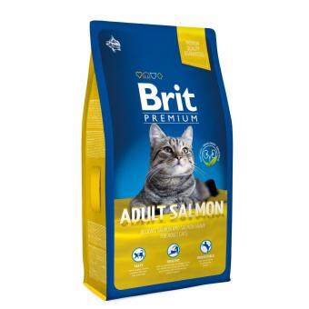 Harga Brit Premium Cat Adult Salmon 8kg