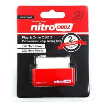 Harga 2Pcs Nitro OBD2 For Diesel Cars Chip Performance Tuning Plug & Play Auto ECU Remap (Red)
