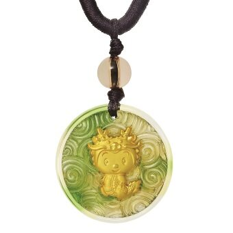 Harga Poh Kong Golden Youth 999 Gold LiuLi Pendant (Dragon)