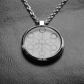 Harga Hottime 2000CC High Ion Bio Chi Quantum Pendant Scalar Energy With Stainless Steel Necklace Chain 30027