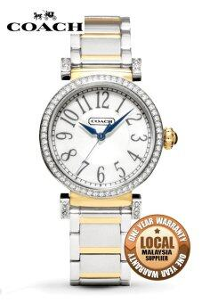 Harga Coach Madison 14501725 Duo Tone Ladies' Rhinestone Watch