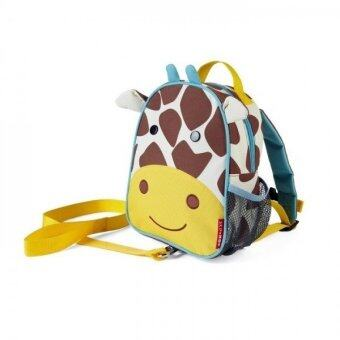 Harga Skip Hop Zoo let Mini Backpack With Rein (Giraffe)