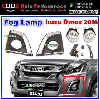 Harga Isuzu Dmax D-Max 2016 Fog Lamp + Fog Lamp Cover (Chrome) Spot Light Kit