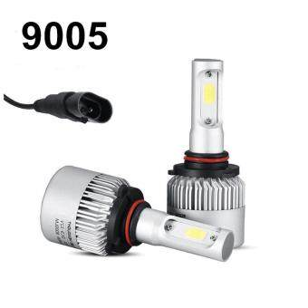 Harga Led H4 H7 H11 H13 9005 9006 Car Headlight Bulbs COB Chips 72W 8000LM 6500K Hi-Lo Beam Led Headlight Auto Lamp DC12/24V