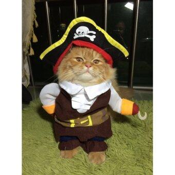 Harga Shindak Fashion Pirates of the Caribbean Design Dog Clothes Costumefor Dogs and Cats (S)