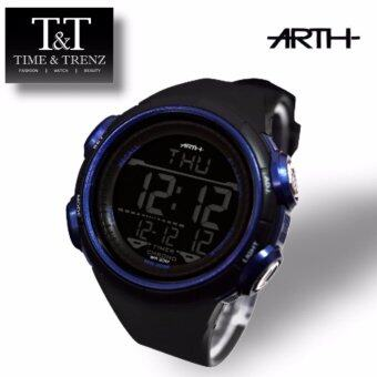 Harga Time&Trenz ARTH 2001 High Quality Unisex Sporty Water Resistance Watch