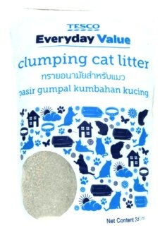 Harga Tesco Everyday Value Clumping Cat Litter 3.5L