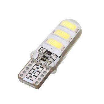 Harga Car T10 Canbus LED SMD5730 Marker License Plate Light Lamp Silicone Shell