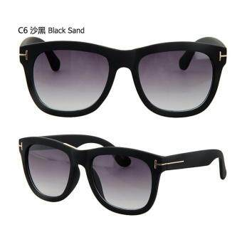 Harga 96938 Korea Design Man Sunglasses -Sand Black