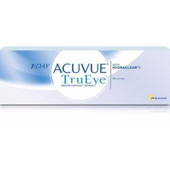Harga 1 Day Acuvue TruEye Contact Lens (-1.00)
