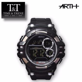 Harga Time&Trenz ARTH 2031 High Quality Unisex Sporty Water Resistance Watch