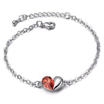 Harga LOVENGIFTS Swarovski In My Heart Bracelet