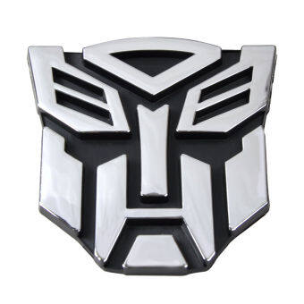 Harga Comebuy88 New Transformers Autobot 3D Logo Emblem Badge Decal Car Sticker-