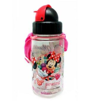 Harga DISNEY MINNIE MOUSE SEWING CLUB 350ML TRITAN BOTTLE * BPA FREE